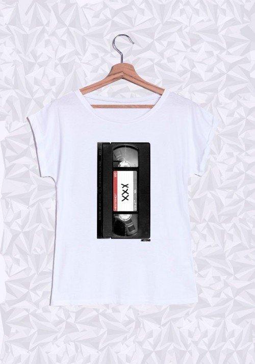 K7 T-shirt Femme Manches Retroussées