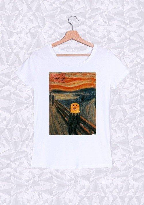 Monster Munch T-shirt Femme Col rond