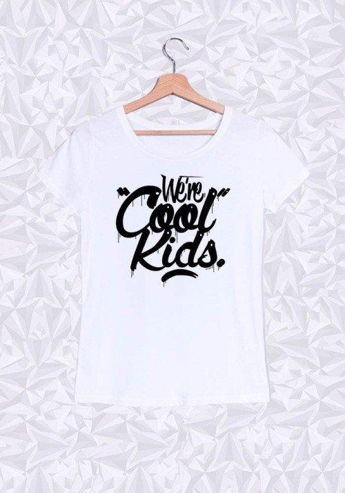 Cool Kids T-shirt Femme Col rond