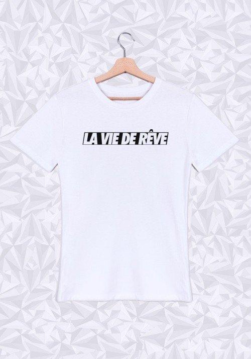 La vie de rêve T-shirt Homme Col rond