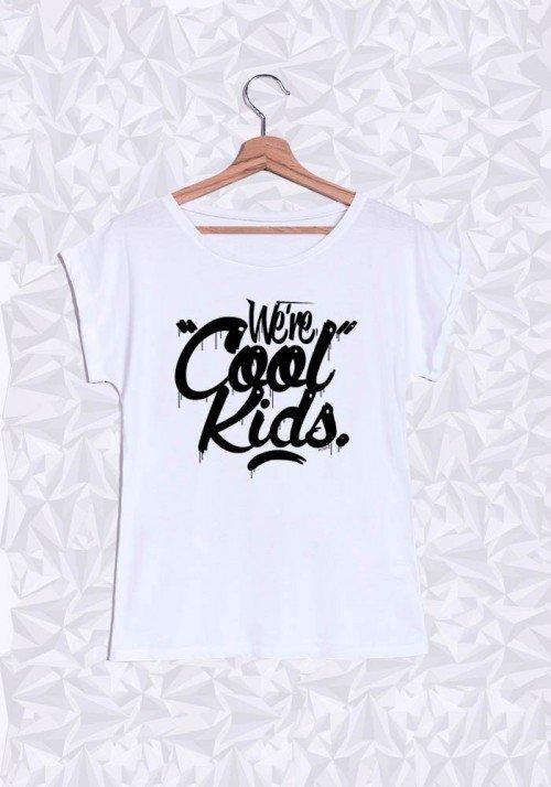 Cool Kids T-shirt Femme Manches Retroussées
