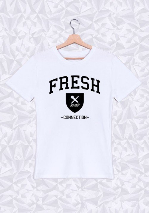 Fresh Connection T-shirt Homme Col rond