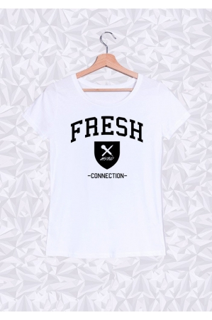 Fresh Connection T-shirt Femme Col rond