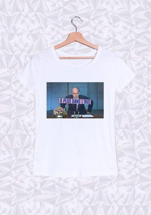 A plus dans le Bus T-shirt Femme Col rond