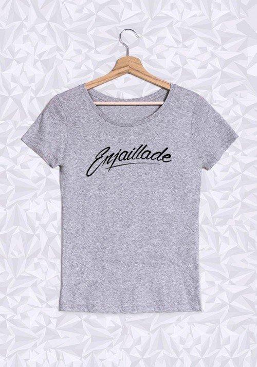 Enjaillade T-shirt Femme col rond