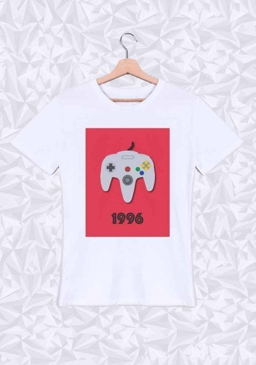 1996 T-shirt Homme Col rond