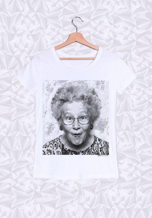 Jocelyne T-shirt Femme Col Rond