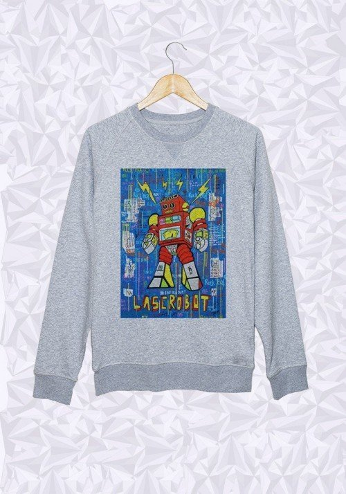 Rock Bot - Sweat Homme