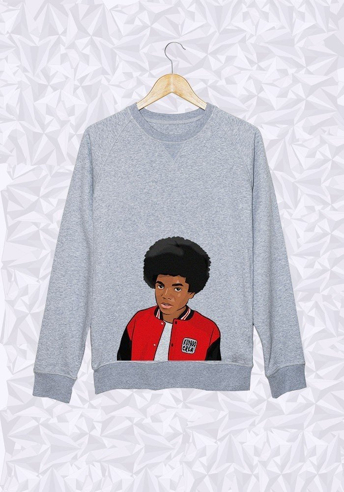 Sweat Michael Jackson Afro Buste