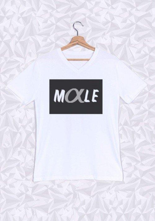 Mâle Alpha T-shirt Homme Col V