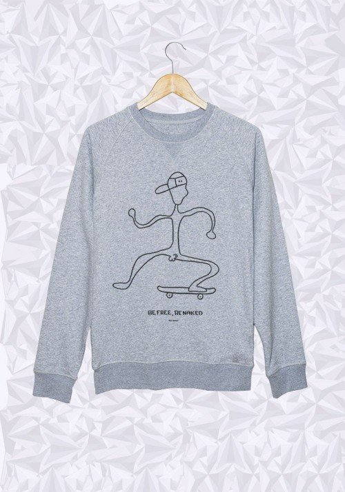 Be Free Skate - Sweat Homme
