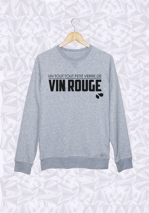 Verre de Rouge - Sweat Homme