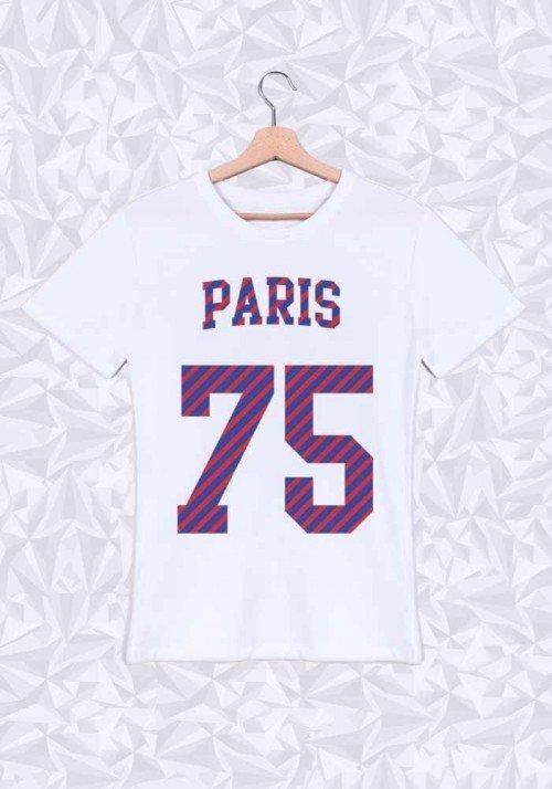 Paris T-shirt Homme Col rond