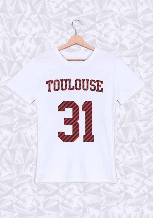 Toulouse T-shirt Homme Col rond