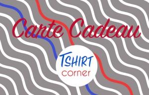 Carte Cadeau Tshirt Corner Homme