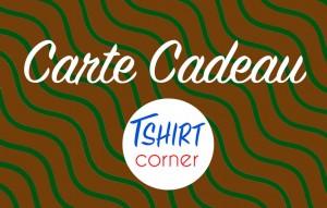 Carte Cadeau Tshirt Corner Eco